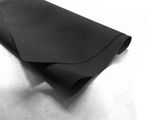 EPDM rubberfolie 0,75mm
