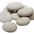 Beach Pebbles (plat) grijs 30-60mm